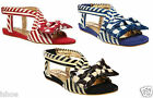 Sandali Irregular Choice Donna Mod. Jolly Lolly Nautico EU 36.5-40.5 Nuovo