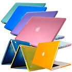 "Crystal Hard Case Plastic Shell For Mac MacBook Pro 13"" 13.3"" Notebook"