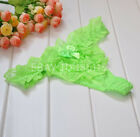 Women's Sexy Thongs G-string V-string Panties Knickers Lingerie Underwear 609