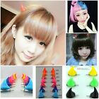 Chic Halloween Stereo Devil Horns Ears Clip Hairpin Corner Hair Jewelry 1 pair