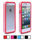 Stylish Colour + Clear Bumper Case For iPhone 4 & 4S
