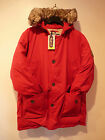 PUFFA MENS  PAULO LONG QUILTED PARKA   RED or NAVY   RRP £160   S to XL   BNWT