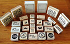 EAST OF INDIA RUBBER STAMP CRAFT CARD MAKING GIFT WRAPPING LOVE WEDDING FAVOURS