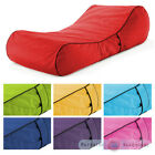 Outdoor Garden Waterproof Bean Bag Sun Lounger Recliner Furniture Chaise Bed
