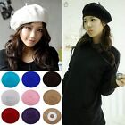 NEW Fashion WOMEN'S WARM Hot Dance WOOL FRENCH BERETS TAM BEANIE SLOUCH HAT