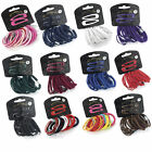 20 Piece Hair Elastic Band & Snap Sleepie Clip Set - Choose Your Colours