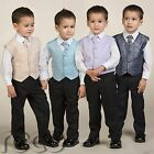 Boys Waistcoat Suit, Page Boy Suits, Prom Suits, Boys Wedding Suit, Boys suits