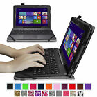 "Fintie PU Leather Case Cover Stand for ASUS Transformer Book T100 10.1"" Tablet"