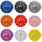Genuine Ice Wall Clock - Ice watch shape  - Choose from Nine Bright colours!