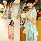 Fashion Women Long Print Cotton Scarf Wrap Ladies Shawl Girls Large Scarves EW