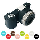 Multicolor Silicone Case Soft Protective Skin Rubber For Sony A5000 16-50mm Lens
