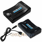 MHL HDMI To SCART Composite Video Scaler Converter Audio Adapter for DVD SKY PS3