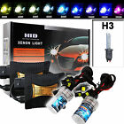 HID Xenon Kit H3 Beam Slim Ballast Headlights for HONDA TOYOTA Ford Chevrolet