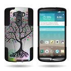 For LG G3 (2014) - Dual Layer Heavy Duty Kickstand Hybrid Phone Cover Case