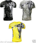Konflic Giant Cross Biker MMA UFC Roar Mens T Shirt