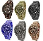 Crystal Flower Dial Women/Ladies Fashion Watch & Original Gift Box