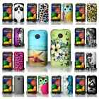For Motorola Moto E Designs Hard Plastic Snap On Cover Case Assessory