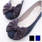BN Elegant Wedding Bowed Comfy Darling Ballerinas Ballet Flats Shoes Blue Black