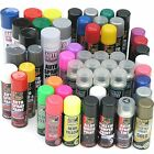 Car Spray Paint Gloss Matt Black White Blue Red Primers Neons Glitters Lacquer