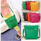 New Arrival Trend Candy Color Bow Bucket Womens Shoulder Messenger Crossbody Bag