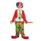 BOYS FUNNY CIRCUS CLOWN KIDS CHILDS FANCY DRESS COSTUME
