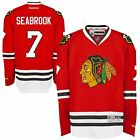 Chicago Blackhawks Brent Seabrook 7 Red Reebok Premier Stitched Jersey