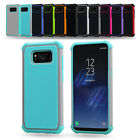 Premium Hybrid Rubber Heavy Duty Case Cover For Samsung Galaxy S7 S6 Edge S5