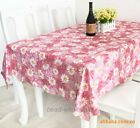 Hot European Style #5PVC Waterproof Oilproof Dinner Table Tea Table Cloth