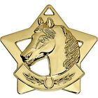 SHOW JUMPING HORSE RIDING EVENTS MEDAL TROPHY * HORSES TROPHIES
