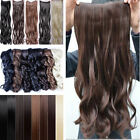 "Premium Clip In Hair Extensions 3/4 Full Head Weft 23"" as good as real hair uk"
