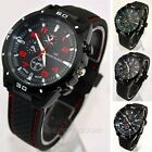 2014 NEW Mens Quartz Stainless Steel Wrist Watch Sport Racing Watches Analog HOT
