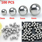 100pc 14/16G Steel Ball Beads Fit Ear Eyebrow Lip Nose Ring Piercing Accessories