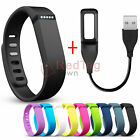 Replacement USB Charger Cable+Wrist Band+Clasp For Fitbit Flex Wireless Bracelet