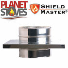 Stainless Steel Shieldmaster Console Plate Twin Wall Insulated Flue Pipe