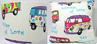 Hippy Camper Van Summer of Love , Ceiling Pendant, Table Lamp, Cushion cover