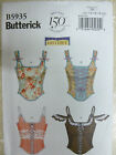 Butterick B5935 Corset sewing pattern size 4-12 or size 12-20 steam punk