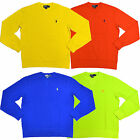 Polo Ralph Lauren Mesh Shirt Long Sleeve Mens Pony Logo New S M L Xl Xxl V073+