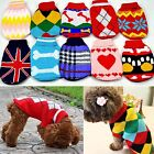 Cute Pet Dog Warm Jumper Sweater Clothes Puppy Cat Knitwear Costume Coat Newly
