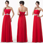 Graceful Homecoming Sexy Long Women Bridesmaid Evening Prom Cocktail Dress 6-20