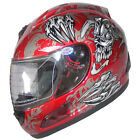 Motorcycle Helmet Full Face Sports Helmets DOT 160 wine