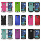 Rugged Hybrid Hard Mesh Phone Cover Case for Samsung Galaxy S5 Active