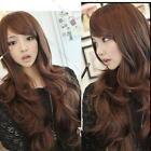 Sexy Womens Girls Fashion Style Wavy Curly Long Hair Girl Full Wigs Black Brown