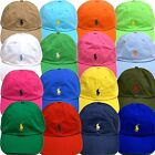 Polo Ralph Lauren Hat Ball Cap Mens Pony Logo Baseball One Size Adjustable W195+