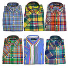 Polo Ralph Lauren Button Down Shirt Classic Fit Woven Mens Sportshirt New V193