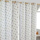 Paisley Dots Ready Made Eyelet Curtain Yellow White Grey Red Designer Curtains