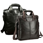 BIG Promotio Men Real Cow Leather Formal Briefcase Handbag Shoulder Bag 2 Colors