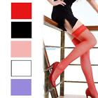 Women's Lady's Girls Sexy Lace Top Big Mesh Thigh High Fishnet Socks Stockings
