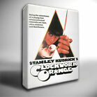 A CLOCKWORK ORANGE FILM POSTER GICLEE CANVAS WALL ART PRINT *Choose your size