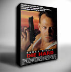 DIE HARD FILM POSTER GICLEE CANVAS WALL ART PRINT *Choose your size