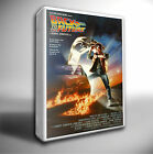 BACK TO THE FUTURE 1 FILM POSTER GICLEE CANVAS ART PRINT *Choose your size
